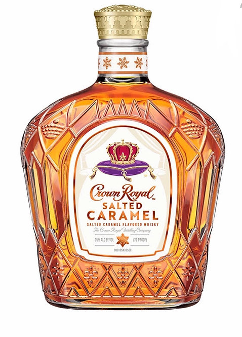 Crown royal salted caramel whisky 750ml