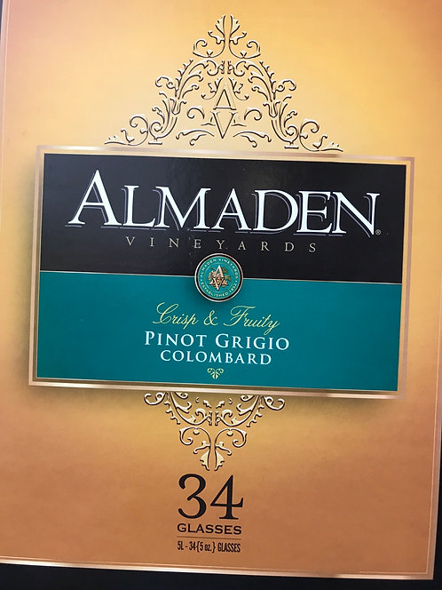 ALMADEN PINOT GRIGIO / COLOMBARD 5LI