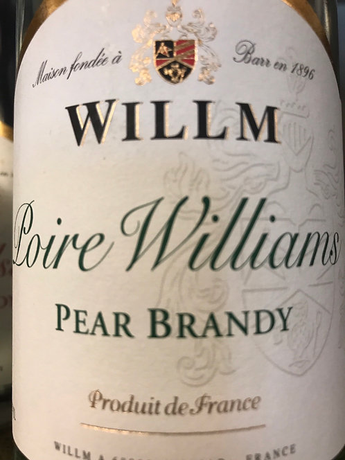 WILLM PEAR BRANDY -  750ML