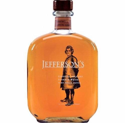 JEFFERSON'S VERY SMALL BATCH straight bourbon   -  750ML