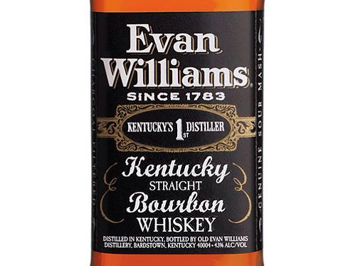 EVAN WILLIAMS BOURBON -  375ML
