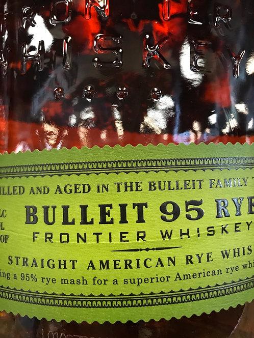 BULLEIT RYE  -  375ML