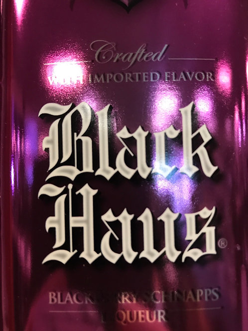 BLACK HAUS BLACKBERRY SCHNAPPS -  750ML