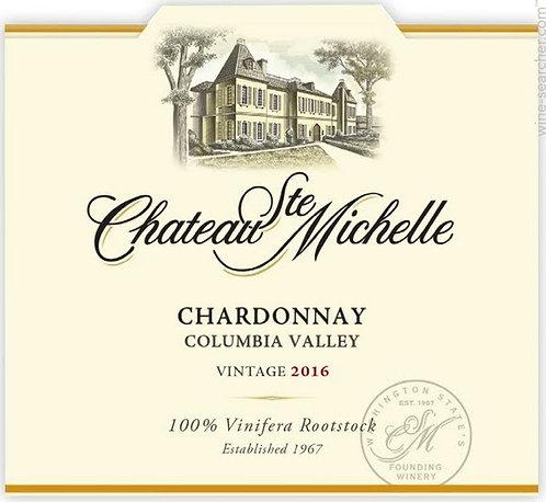 CHATEAU ST MICHELLE CHARDONNAY -  750ML