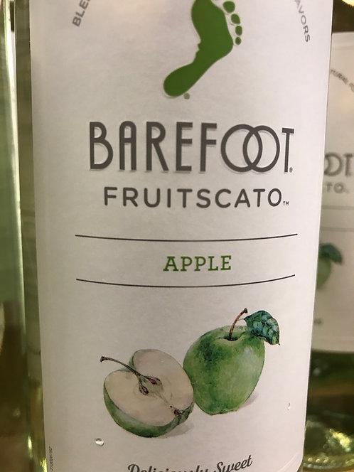 barefoot moscato apple 750ml