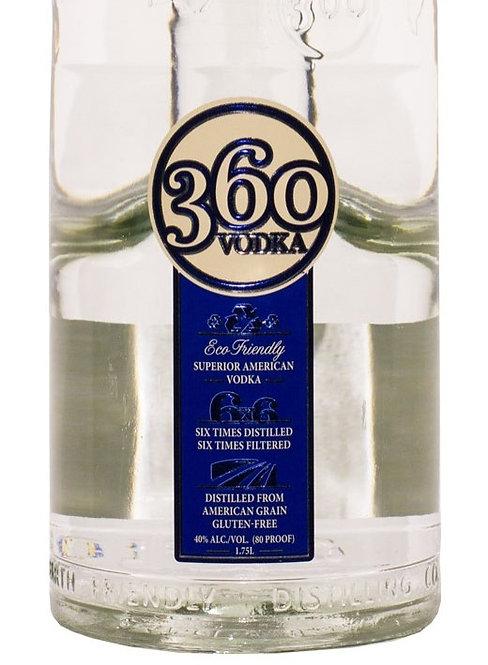 360 VODKA VODKA -  1.75L