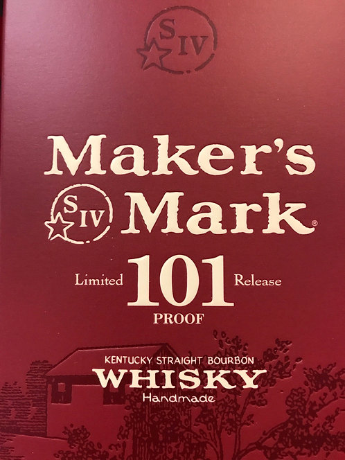 Makers mark 101 proof 750ml