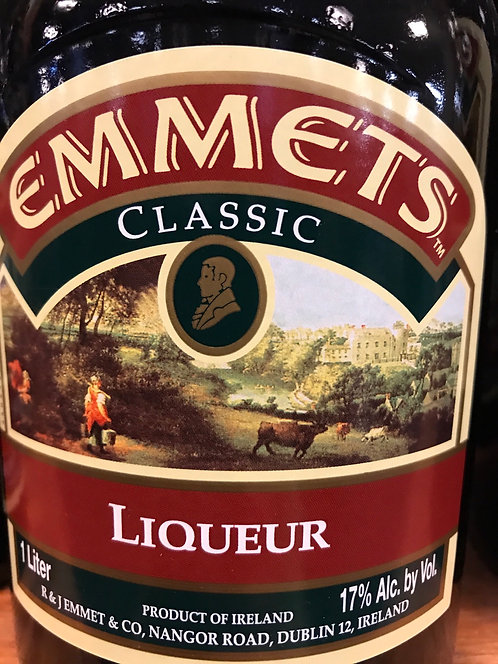 EMMETTS IRISH CREAM -  1L