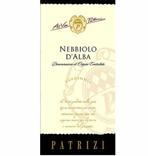 Patrizi Nebbiolo D'Alba 750ml