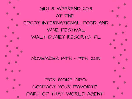 Girls Weekend 2019 with PoTW! Join Us!