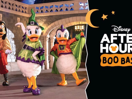 Disney After Hours Boo Bash Dates and Pricing has been released!