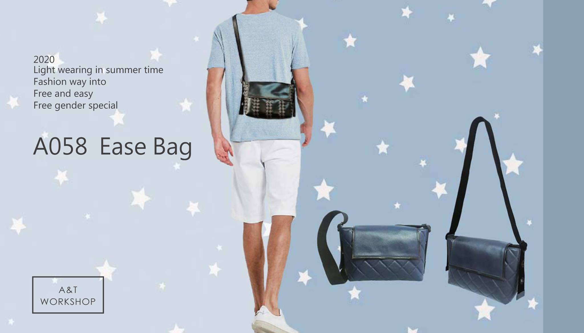 A058 easy bag (菱格)