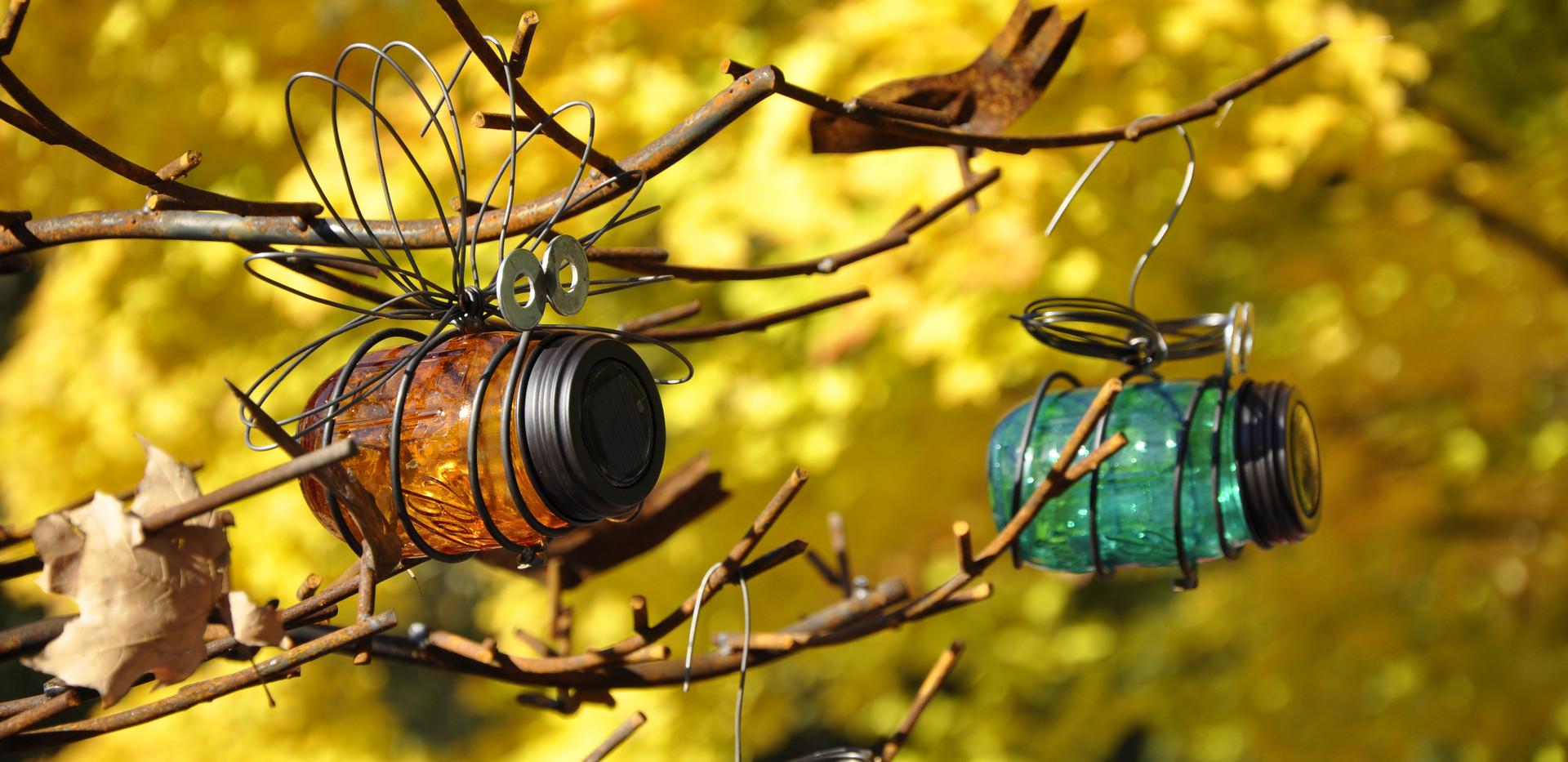 Jewel-tone Jar Bugs