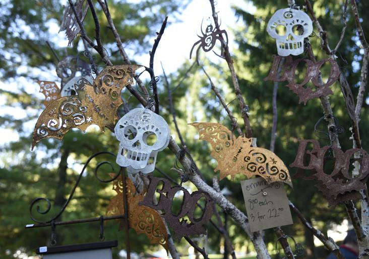 Halloween Metal Pieces