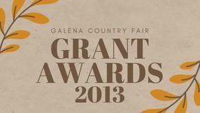 2013 Grant Awards