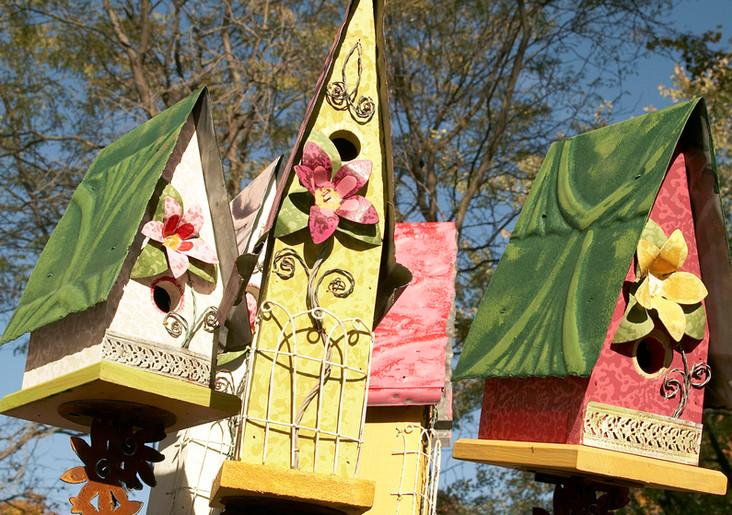 Metal Birdhouses