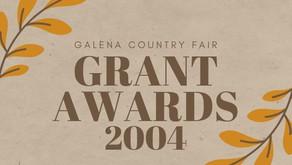2004 Grant Awards