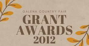 2012 Grant Awards