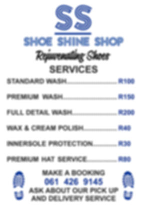 Shoe Shine Shop - A1 Correx Board PROOF-