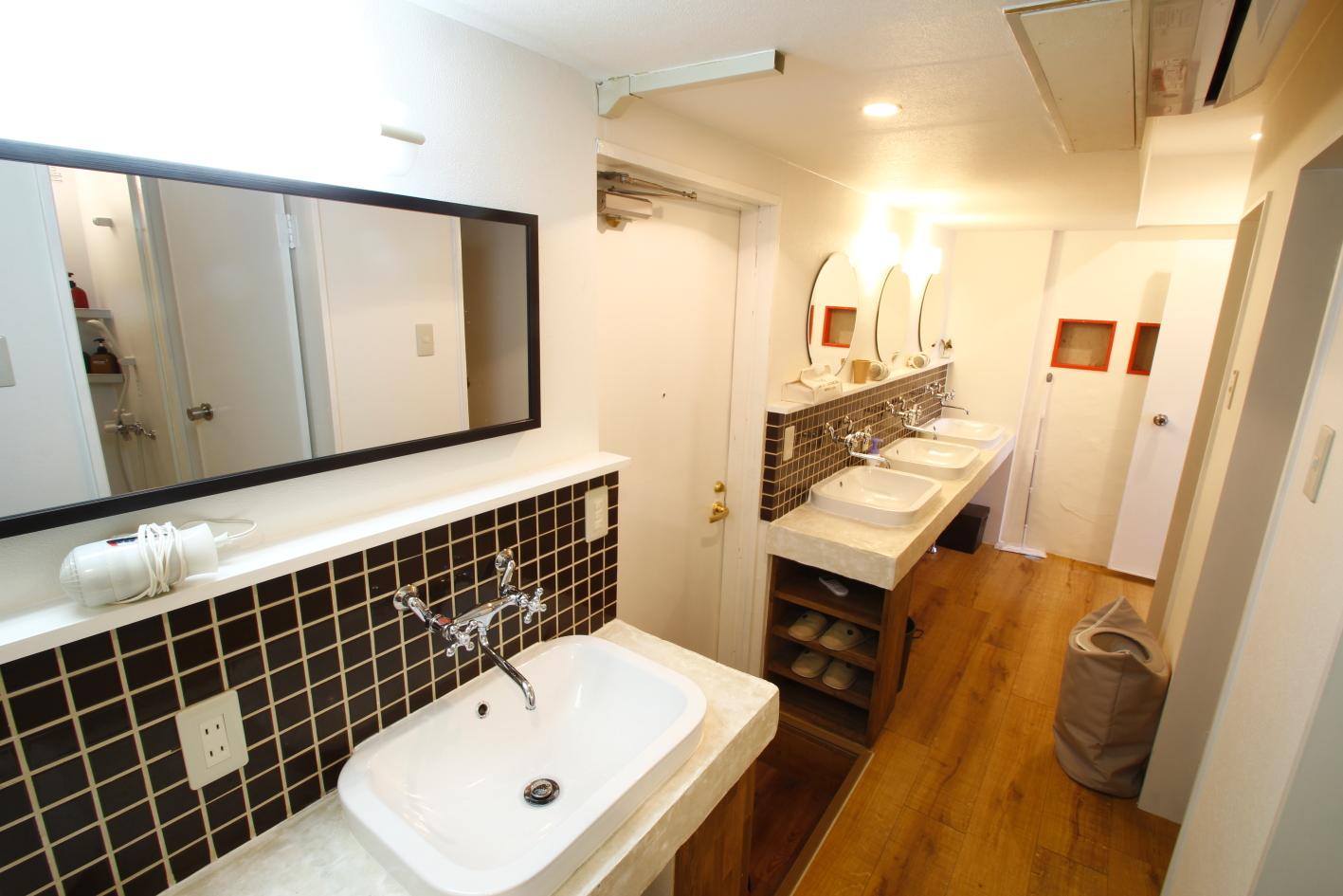 2F女性専用洗面スペース
