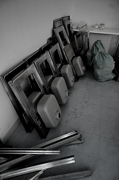 各部屋のキッチン、解体!