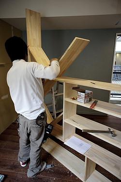 本棚組みます