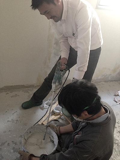 漆喰の作り方
