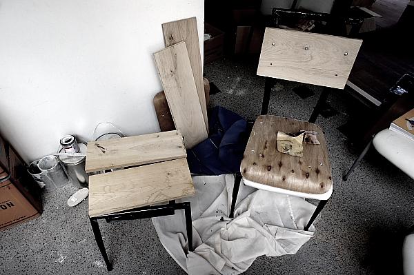 椅子、どうしたものか。