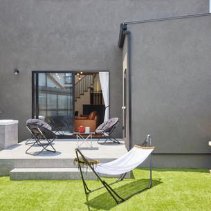 裏庭の贅沢活用法!楽しみ方無限大なプライベート空間。