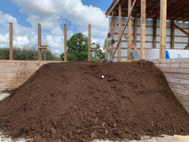 OUR FIRST TON OF COMPOST