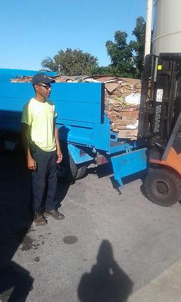 Pickup of Fosters cardboard 2.JPG