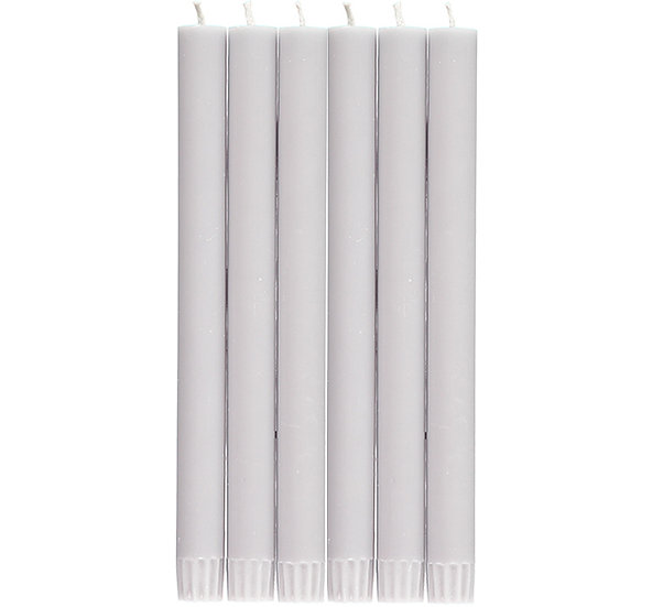 Gull Grey Eco Dinner Candles