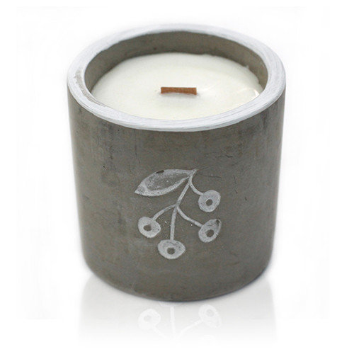 Juniper & Sweet Gin Concrete Candle