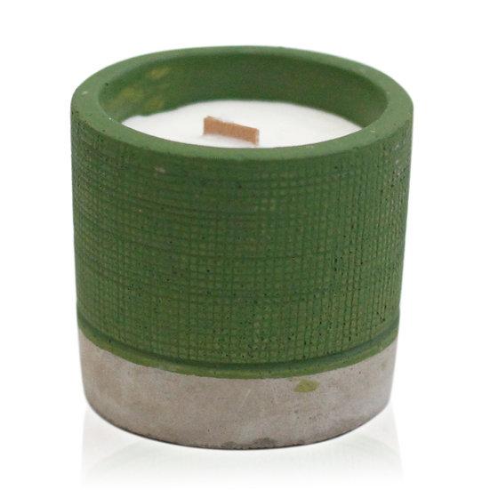 Sea Moss & Herbs Concrete Candle