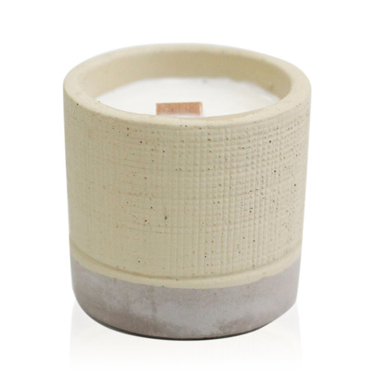 Coffee In The Club Concrete Candle