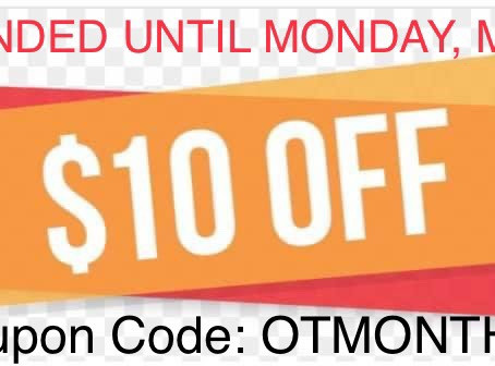 Last Day of OTMONTH10 Coupon Code