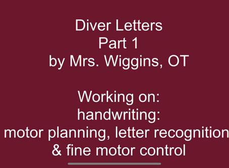 Diver letters Part 1