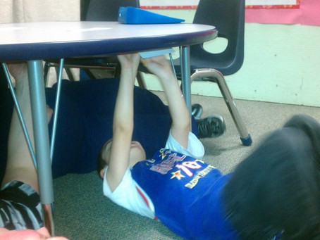 Get Under the Table!