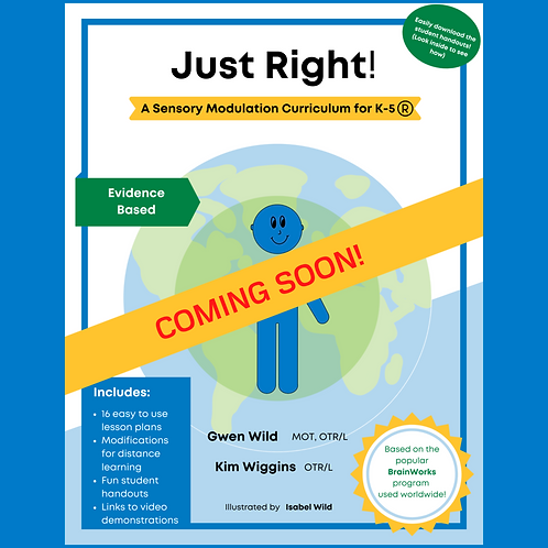 Just Right!  A Senory Modulation Curriculum for K-5