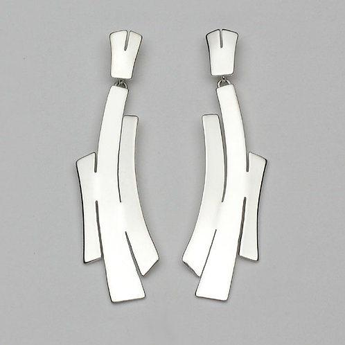 Boucles d'oreilles pendantes  /   Dangle earrings      BC274-2