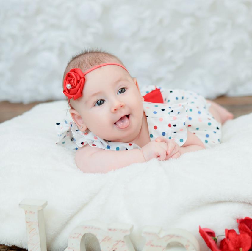 3 mês Nicolly Acompanhamento do bebe