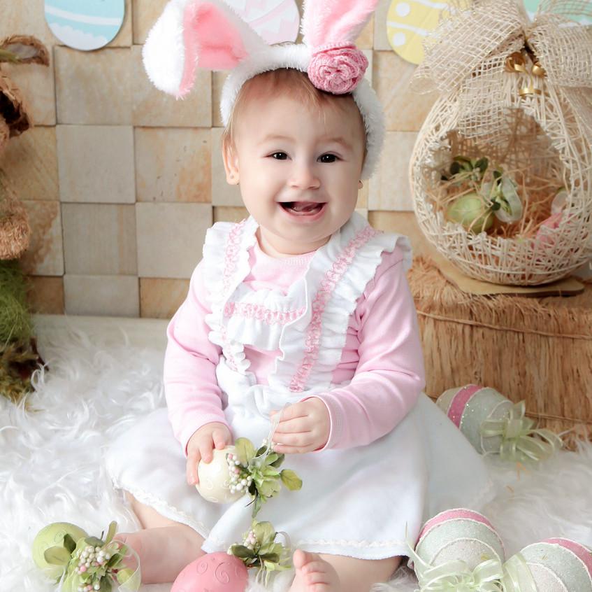 8 mês Nicolly Acompanhamento do bebe