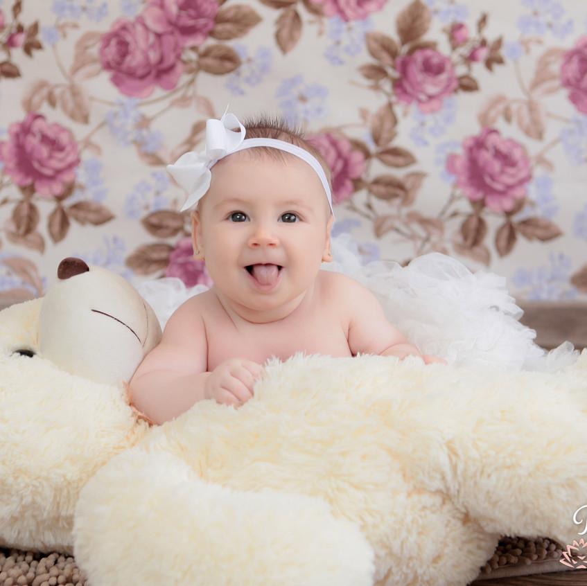 4 mês Nicolly Acompanhamento do bebe
