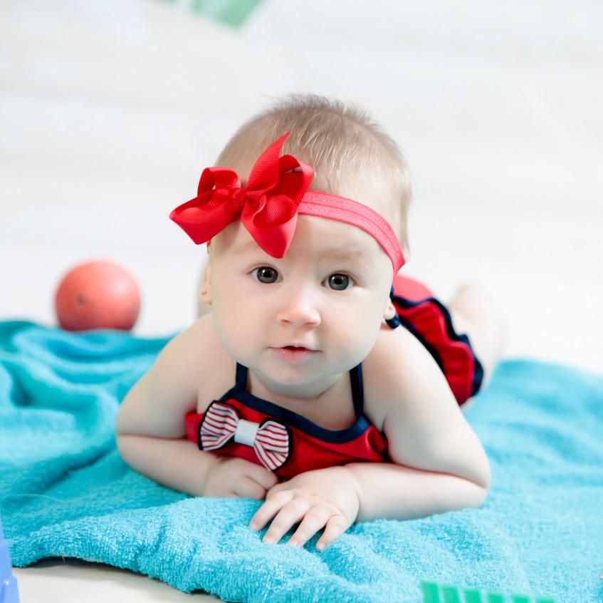 6 mês Nicolly Acompanhamento do bebe