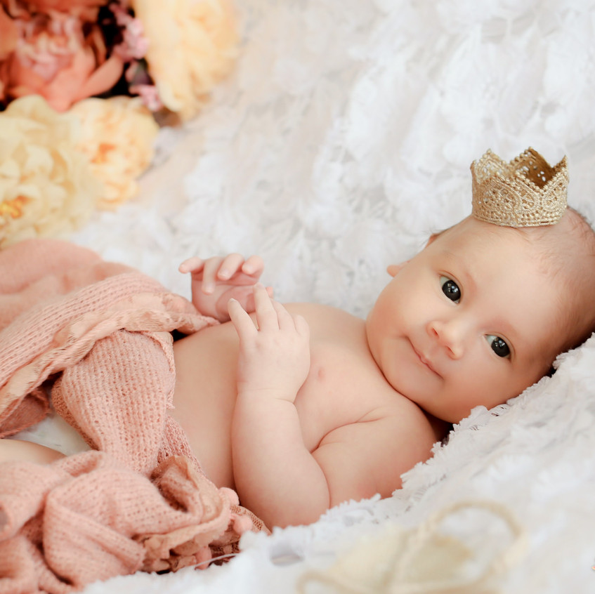 1 mes Nicolly Acompanhamento do bebe