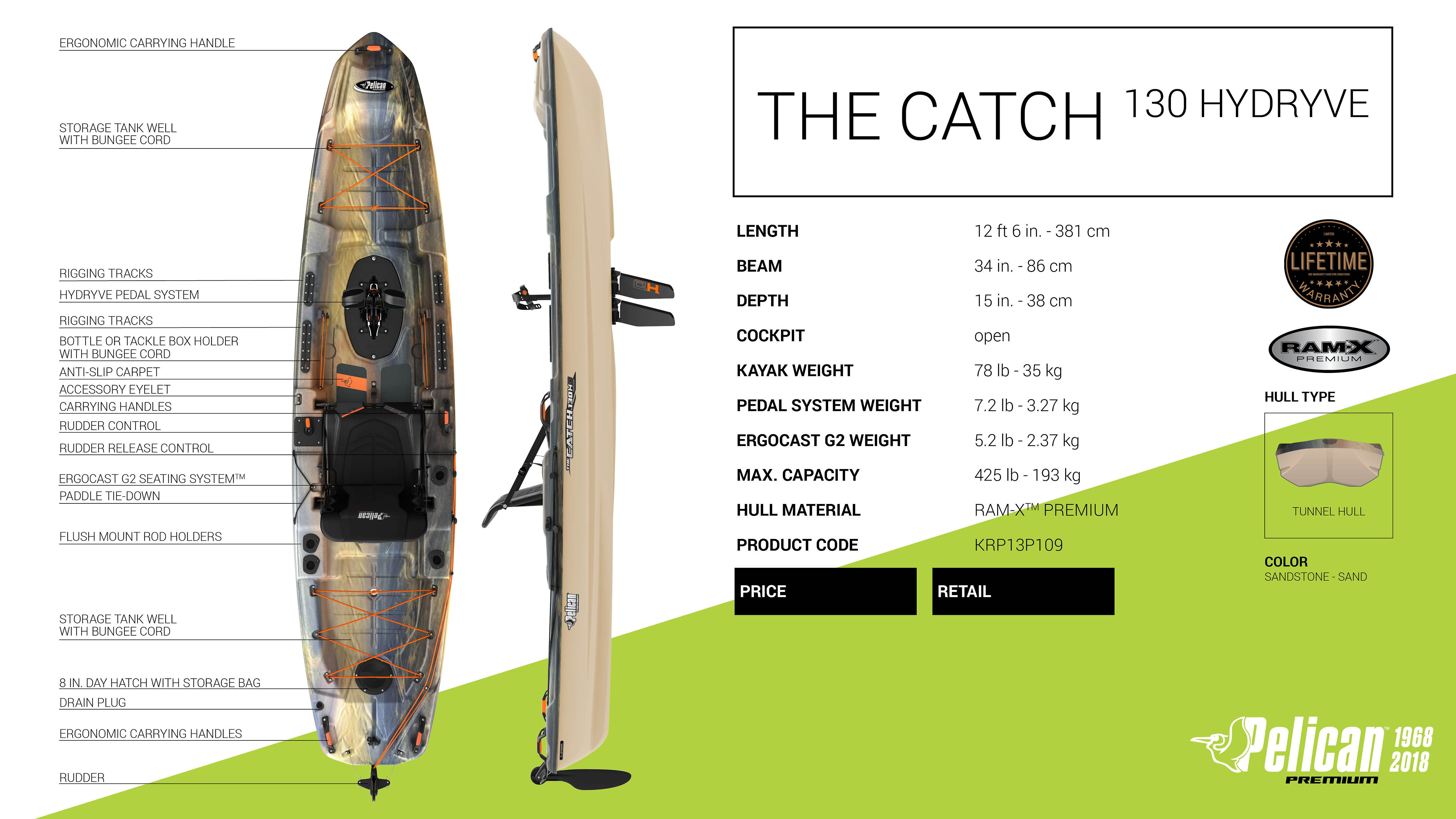 Pelican Catch 130 HD (New Shipment Coming In Early March) | Mysite