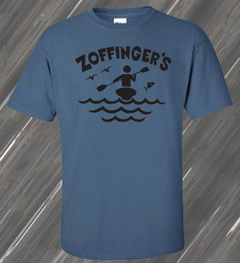 Zoffinger Name and Logo Tee Shirt