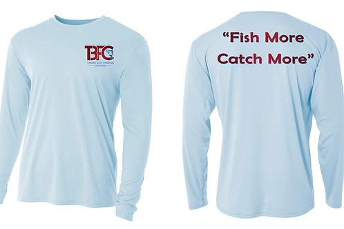 Fish More, Catch More Shirt in Ice Color