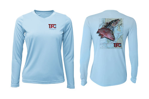 Women's ICE Grouper & Snapper Shirt
