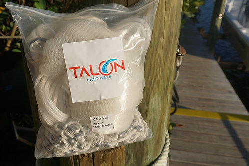 "Talon Cast Nets 10' 3/8"" Mesh 1.5#"